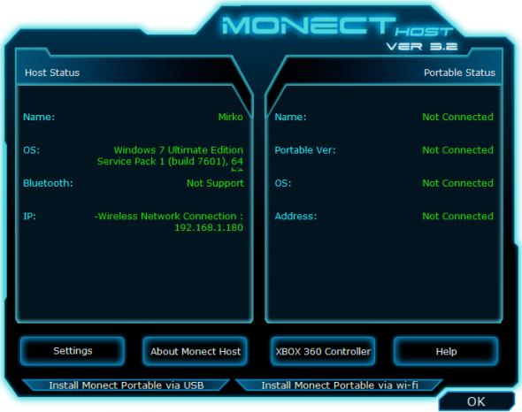 Monect Host per il computer
