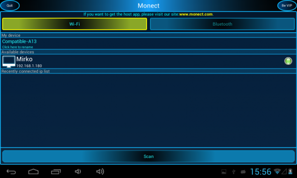 Monect per Android