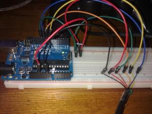Collegamenti Arduino