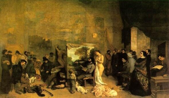 Atelier del pittore